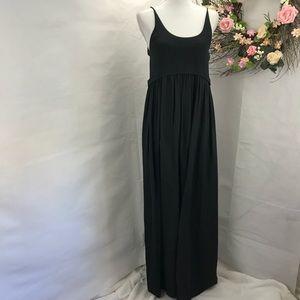 Zara w&B collection black maxi dress S